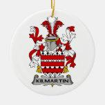 Escudo de la familia de Kilmartin Ornamento Para Arbol De Navidad