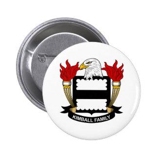Escudo de la familia de Kimball Pin