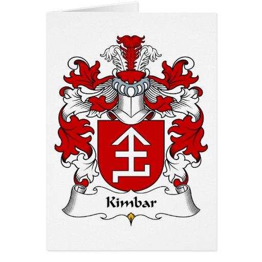 Escudo de la familia de Kimbar Tarjetón