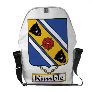 Escudo de la familia de Kimble Bolsa De Mensajería