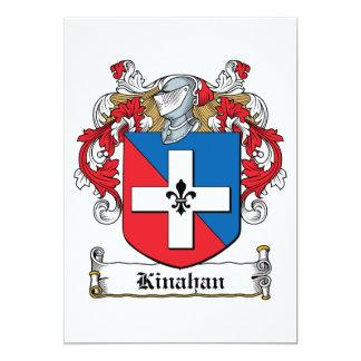 """Escudo de la familia de Kinahan Invitación 5"""" X 7"""""""