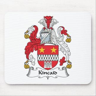 Escudo de la familia de Kincaid Alfombrillas De Raton