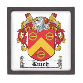 Escudo de la familia de Kinch Cajas De Regalo De Calidad