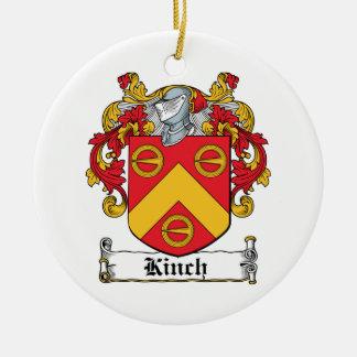 Escudo de la familia de Kinch Ornamente De Reyes