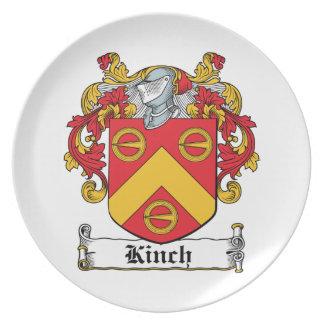 Escudo de la familia de Kinch Platos Para Fiestas