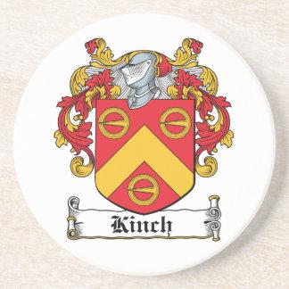 Escudo de la familia de Kinch Posavasos Personalizados