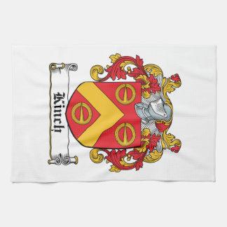 Escudo de la familia de Kinch Toallas