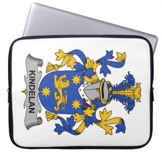 Escudo de la familia de Kindelan Fundas Portátiles