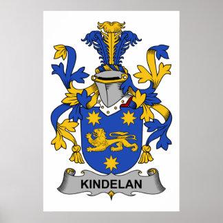 Escudo de la familia de Kindelan Impresiones