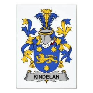 Escudo de la familia de Kindelan Comunicado Personalizado