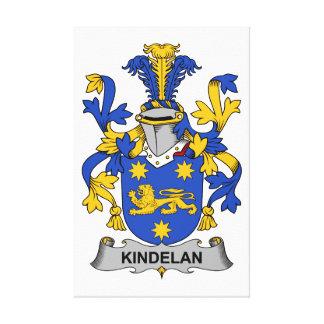 Escudo de la familia de Kindelan Impresiones De Lienzo