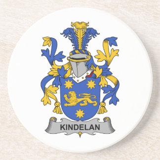 Escudo de la familia de Kindelan Posavaso Para Bebida