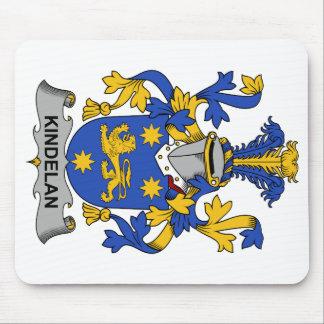 Escudo de la familia de Kindelan Alfombrilla De Ratones