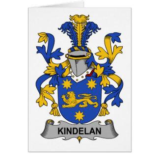 Escudo de la familia de Kindelan Tarjeton