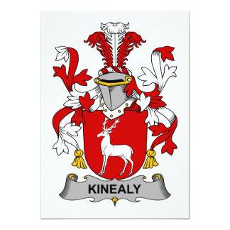 """Escudo de la familia de Kinealy Invitación 5"""" X 7"""""""