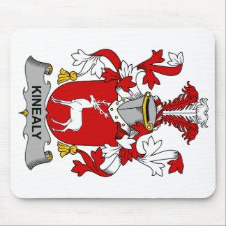 Escudo de la familia de Kinealy Tapetes De Raton
