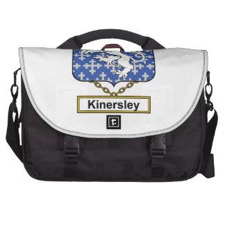 Escudo de la familia de Kinersley Bolsas De Portatil