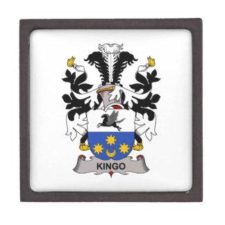 Escudo de la familia de Kingo Cajas De Regalo De Calidad