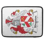 Escudo de la familia de Kingston Fundas Para Macbooks