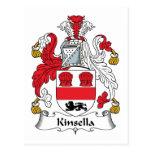 Escudo de la familia de Kinsella Postal