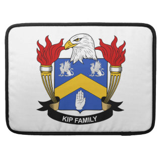 Escudo de la familia de Kip Funda Para Macbooks