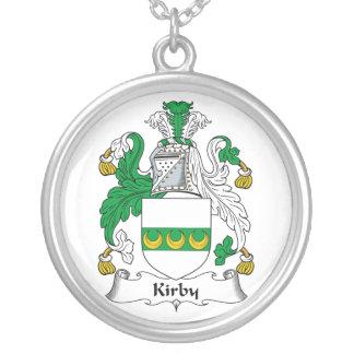 Escudo de la familia de Kirby Colgante Redondo