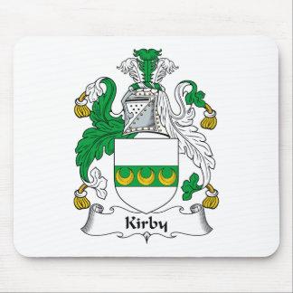 Escudo de la familia de Kirby Alfombrillas De Ratones