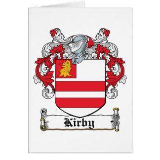 Escudo de la familia de Kirby Tarjeta De Felicitación
