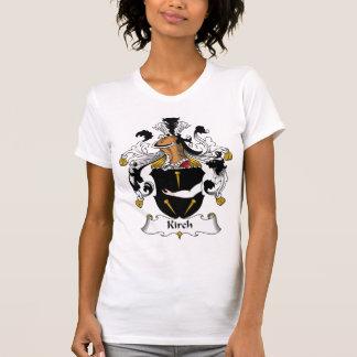 Escudo de la familia de Kirch Camisetas