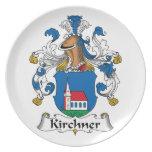 Escudo de la familia de Kirchner Platos