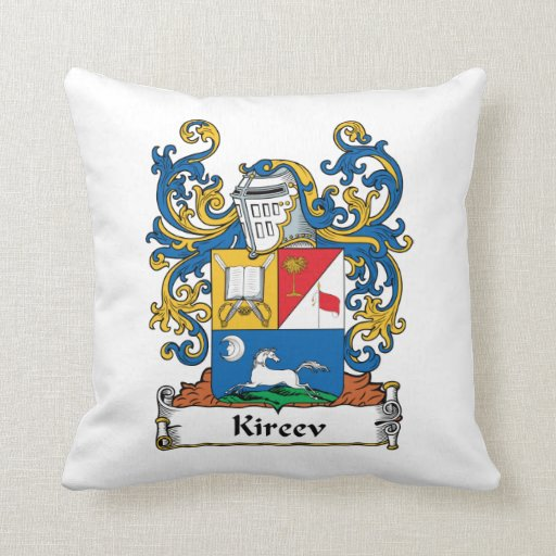 Escudo de la familia de Kireev Cojines
