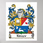 Escudo de la familia de Kireev Impresiones