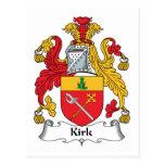 Escudo de la familia de Kirk Postal