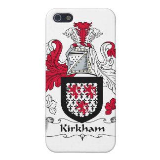 Escudo de la familia de Kirkham iPhone 5 Coberturas