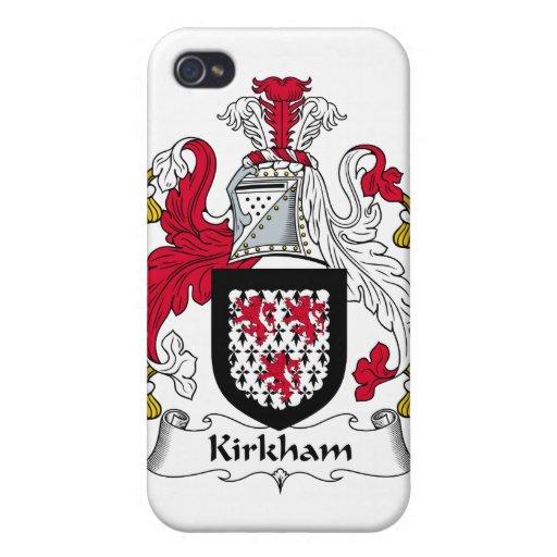 Escudo de la familia de Kirkham iPhone 4/4S Fundas