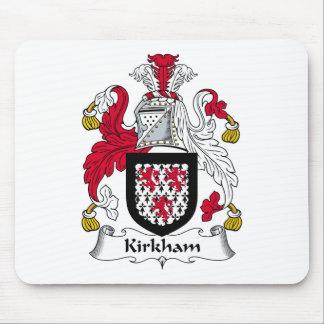 Escudo de la familia de Kirkham Alfombrillas De Ratón
