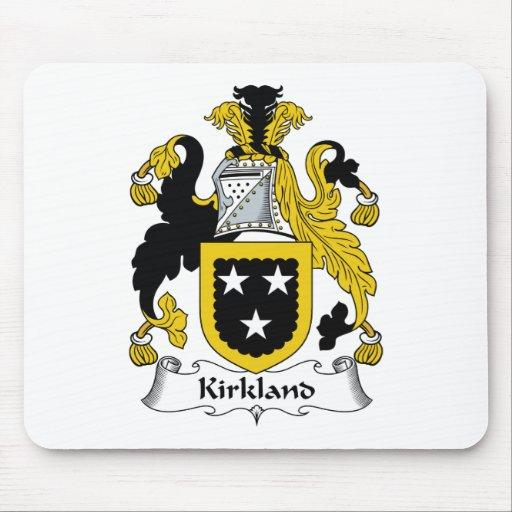 Escudo de la familia de Kirkland Tapete De Ratones