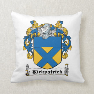 Escudo de la familia de Kirkpatrick Almohadas