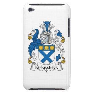 Escudo de la familia de Kirkpatrick Barely There iPod Coberturas