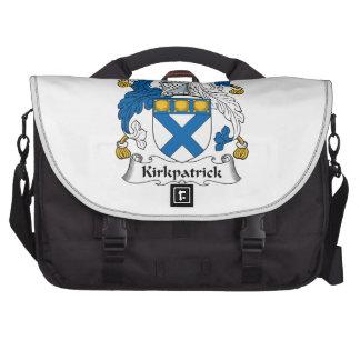 Escudo de la familia de Kirkpatrick Bolsas De Ordenador