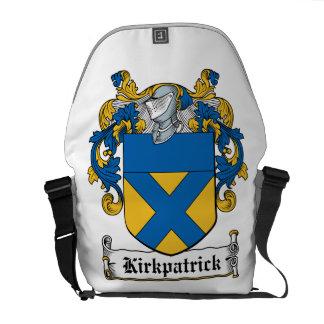 Escudo de la familia de Kirkpatrick Bolsa De Mensajeria