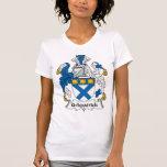 Escudo de la familia de Kirkpatrick Camisetas