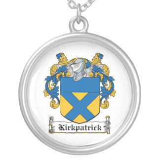 Escudo de la familia de Kirkpatrick Colgante Redondo