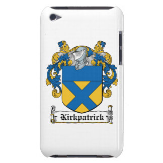 Escudo de la familia de Kirkpatrick iPod Touch Funda