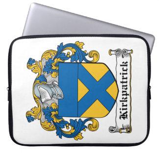Escudo de la familia de Kirkpatrick Funda Portátil