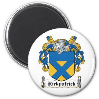 Escudo de la familia de Kirkpatrick Imán Redondo 5 Cm