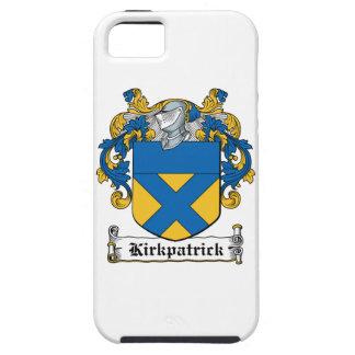 Escudo de la familia de Kirkpatrick iPhone 5 Carcasa