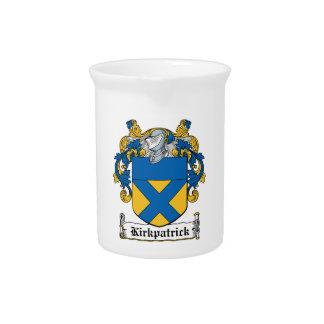 Escudo de la familia de Kirkpatrick Jarras De Beber