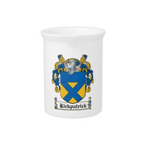 Escudo de la familia de Kirkpatrick Jarra De Beber