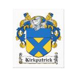 Escudo de la familia de Kirkpatrick Impresiones En Lona Estiradas